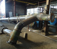 Cement Lined Steel Piping Fabrication