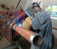 Carbon Steel Drainage Pipe Welding