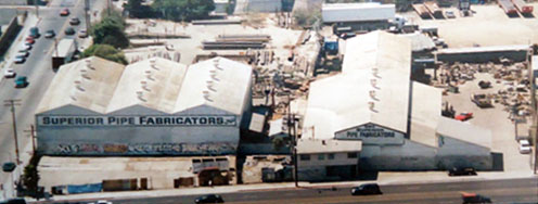 Superior Pipe Fabricators facility